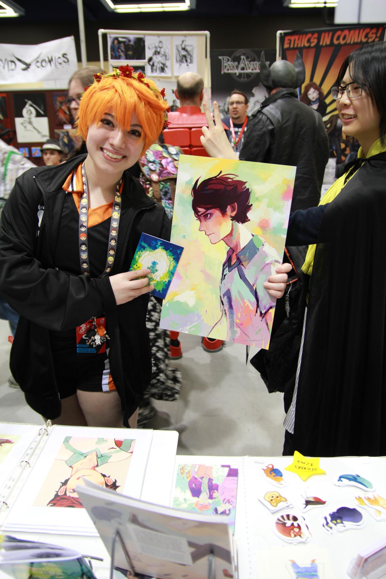 Haikyuu buying Hazel's prints