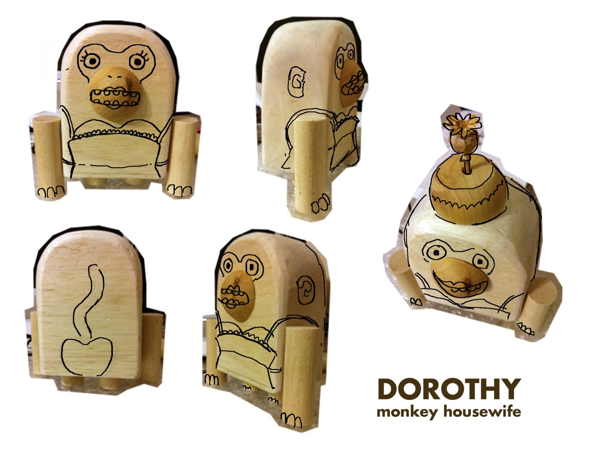monkey housewife