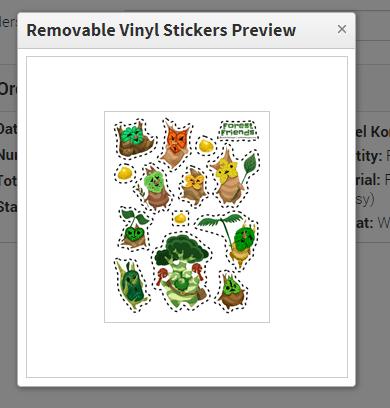 Sticker Sheets!